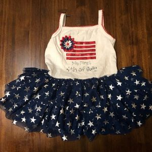 Koala Kids size 12-18 months July 4th dress